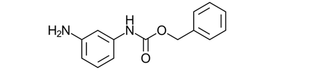 Carbamic acid, (3-aminophenyl)-, phenylmethyl ester