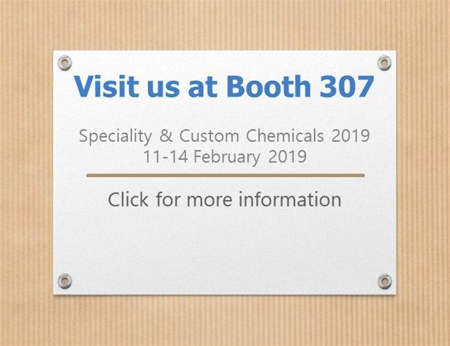 Robinson Brothers is exhibiting at Speciality & Custom Chemicals 2019