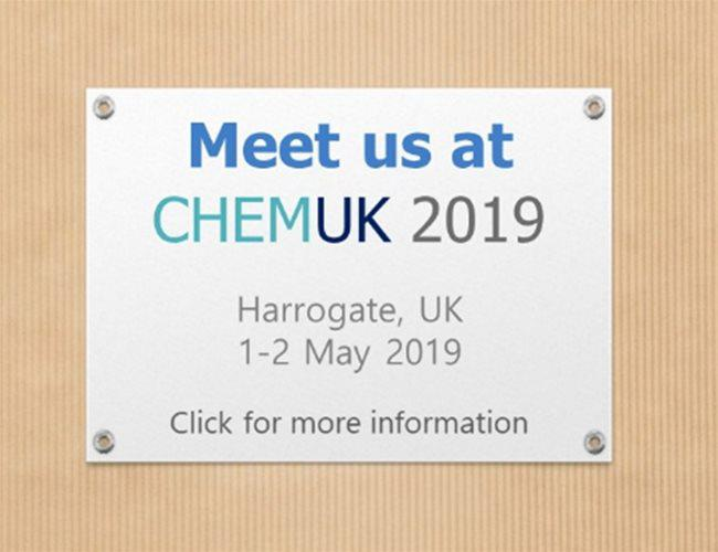 Meet us at CHEMUK 2019