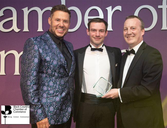 Robinson Brothers' Pilot Plant Technician wins Black Country Chamber of Commerce Young Apprentice of the Year