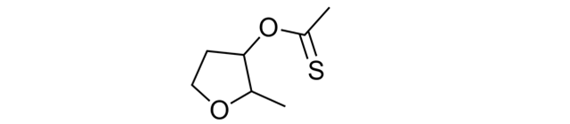 2-Methyltetrahydrofuran-3-thiol acetate