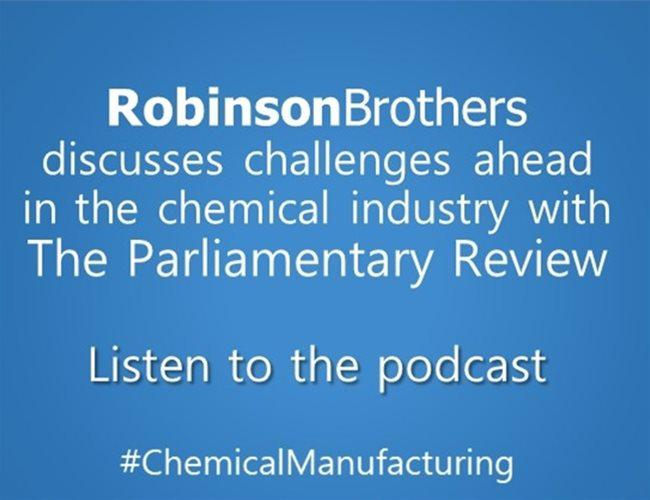 The Parliamentary Review Podcast: Challenges in Chemical Manufacturing