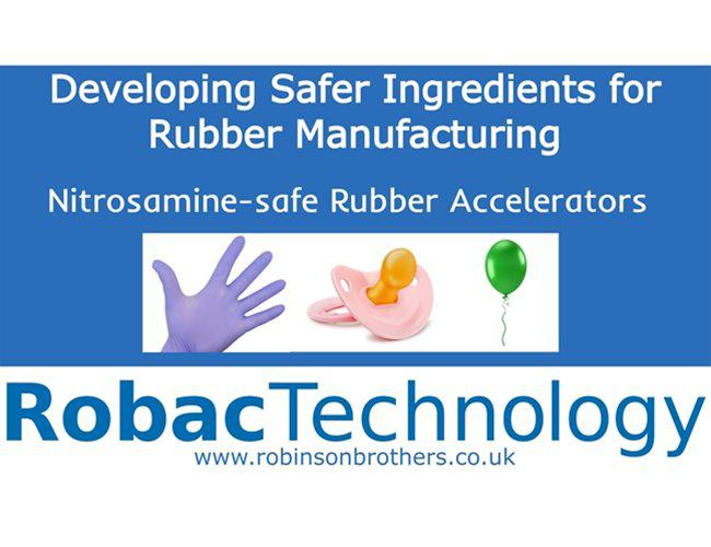 Robac Technology:  Developing Nitrosamine-safe Ingredients for Rubber Manufacturing