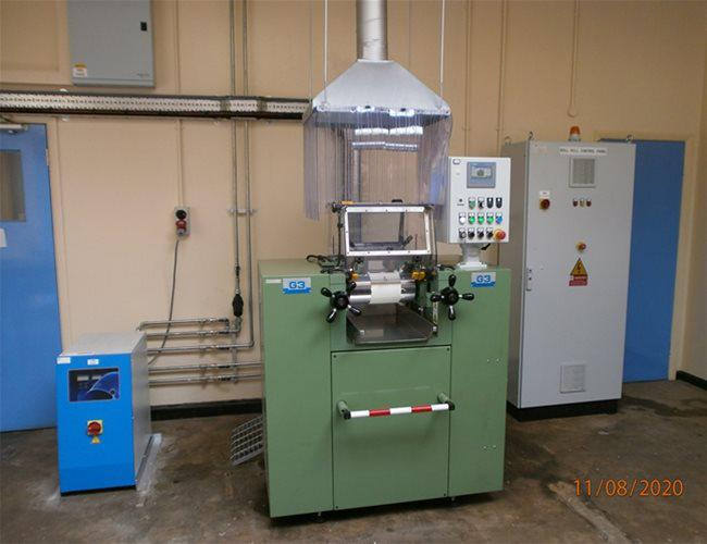 Installation of Innovative Equipment in the Polymer Additive Laboratory