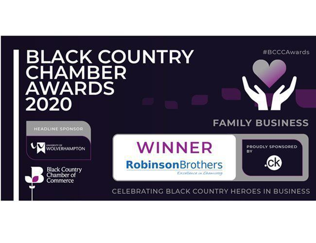 Robinson Brothers Wins Family Business of the Year!